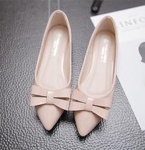 Новый Мода Повседневная Мокасины Сладкий Розовый Белый Женщины Квартиры Твердые Лето Стиль Женской Обуви 5 Цвета балетки