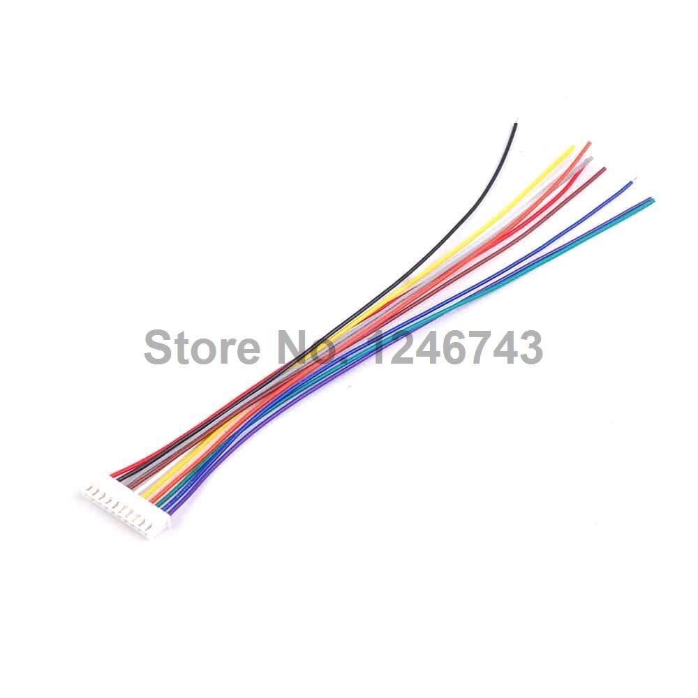 5 STÜCKE XH2.54 10 Pin Stecker Draht Kabel 20 cm Länge Zinn ...