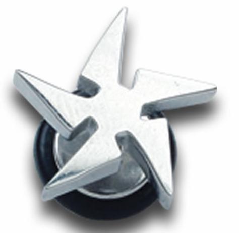 Stainless Steel cool  fake ear plug Ear Stud Earring  body jewelry FKP036803