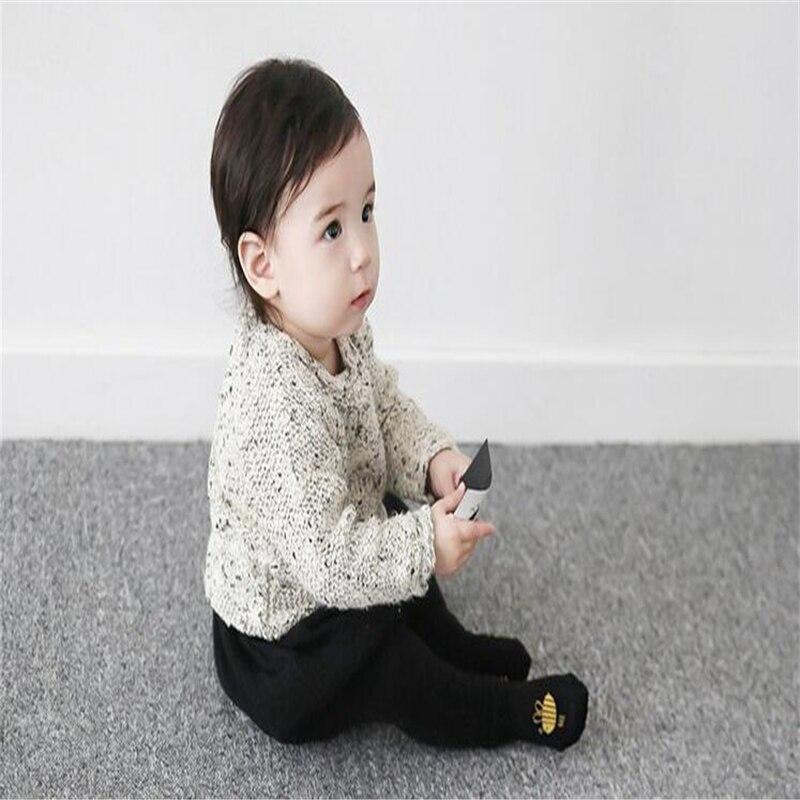 2018 Şirin Qarışqa Arı Dizaynı Körpə Döşəməli corablar - Körpələr üçün geyim - Fotoqrafiya 6