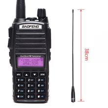 Baofeng UV 82 Più di 8W Potente Walkie Talkie Portatile CB Ricetrasmettitore Amatoriale 2 way Radio UV82 + NA 771 Antenna