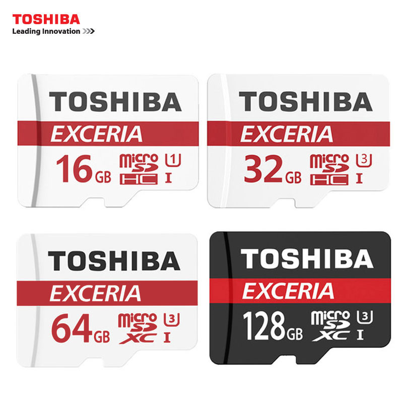 TOSHIBA Memory Card 16G/32G/64G/128G SDHC SDXC U3 Micro SD Class 10 Flash Microsd Card for Smartphones Mp3 Tablet and Camera