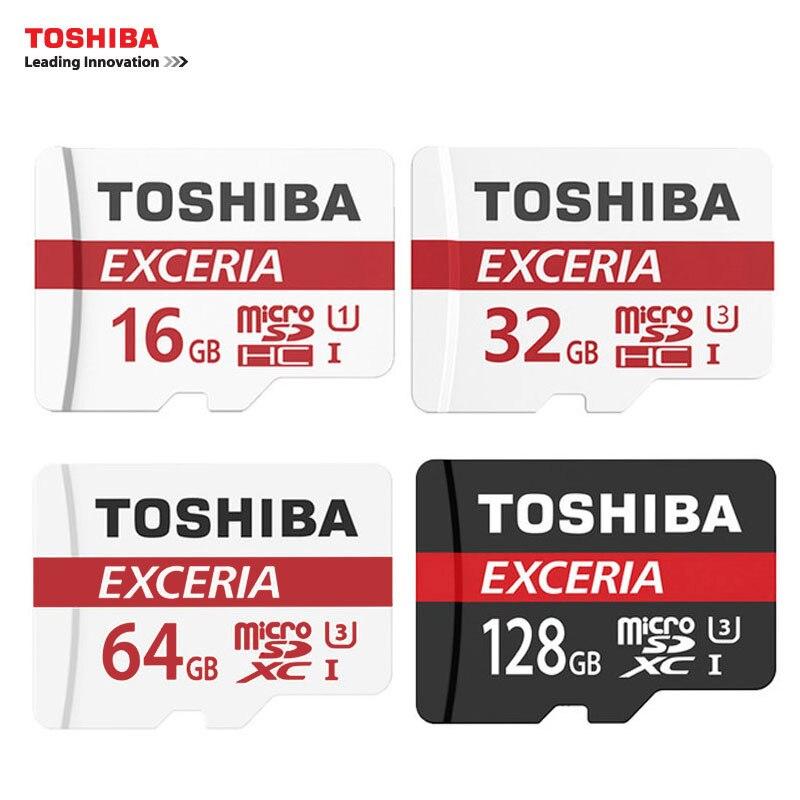 TOSHIBA Speicherkarte 16G/32G/64G/128G SDHC SDXC U3 Micro SD Klasse 10-Microsd-karte für Smartphones Mp3 Tablet und Kamera
