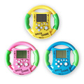 2pcs New Cute Kids Childhood Educational Toys Steering Wheel Built-in 23 Games Tetris Handheld Game Consoles Kids Console