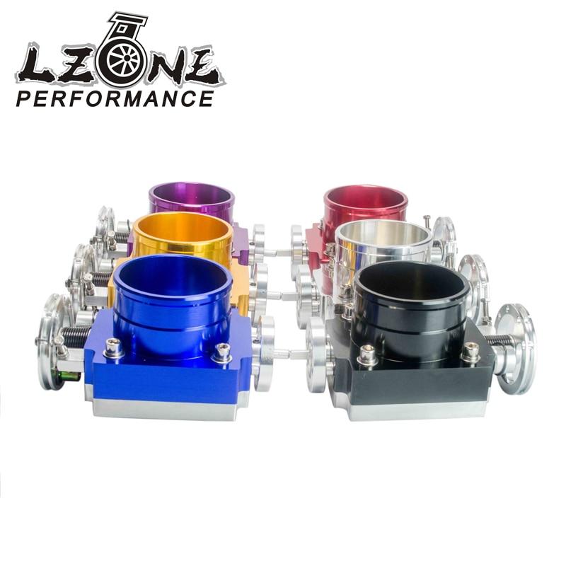 Prix pour LZONE RACING-NOUVEAU CORPS de PAPILLON 80 MM GAZ PERFORMANCE BODY ADMISSION EN ALUMINIUM HIGH FLOW JR6980