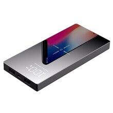 Chargeur sans fil 20000 mAh Qi chargeur portatif à deux bornes usb pour iPhone X XS Max 8 Plus Samsung S9 S8 chargeur de batterie Mobile sans fil rapide