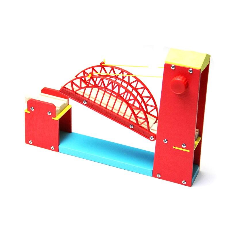 P117 Wooden Suspension Bridge Thomas Small Railroad Tracks Bulk Accessories Compatible with Thomas Train Track