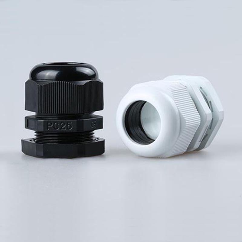 Waterproof nylon plastic cable connector Hot Sale PG25 Black Or White Plastic Connector Waterproof Cable Glands Ip68 16-21mm стоимость