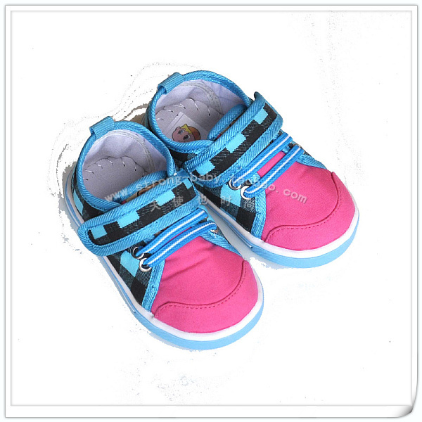 Baby toddler shoes small shoelace shoes casual canvas shoes outdoor non-slip shoes
