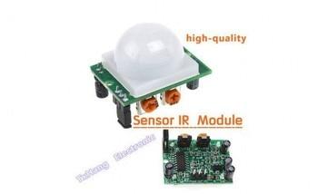 цена на 5pcs Adjust IR Pyroelectric Infrared IR PIR Motion Sensor Detector Module HC-SR501