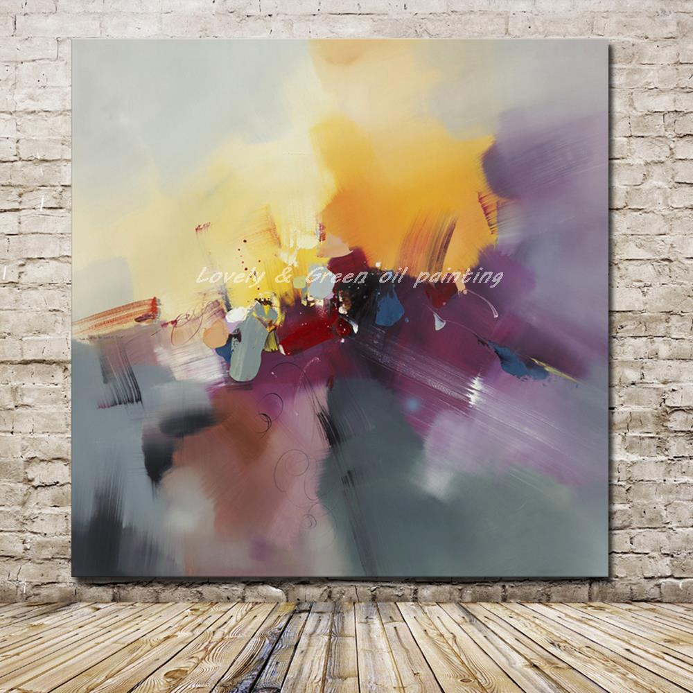 Fashion Modern Living Room Decorative Paintings Hand Painted Abstract Oil Painting On Canvas Wall Painting Wall Picture Gift