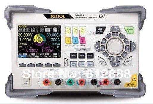Rigol DP832A 3 canales fuente de alimentación DC programable 100-250 V CA