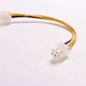 """Image 4 - 15cm 8 """"polegadas atx 4 pinos macho para 4pin fêmea pc cpu fonte de alimentação cabo extensão cabo conector adaptador 1 pc"""