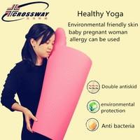 8MM yoga mat tpe For Fitness Tasteless Brand Crossway mat fitness 6Color Gym Exercise Sportfitness fitness mat with Yoga Bag