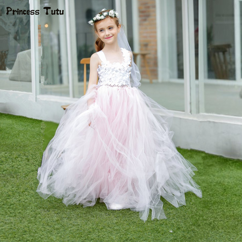 Aliexpress.com : Buy Light Pink Flower Girl Dresses For