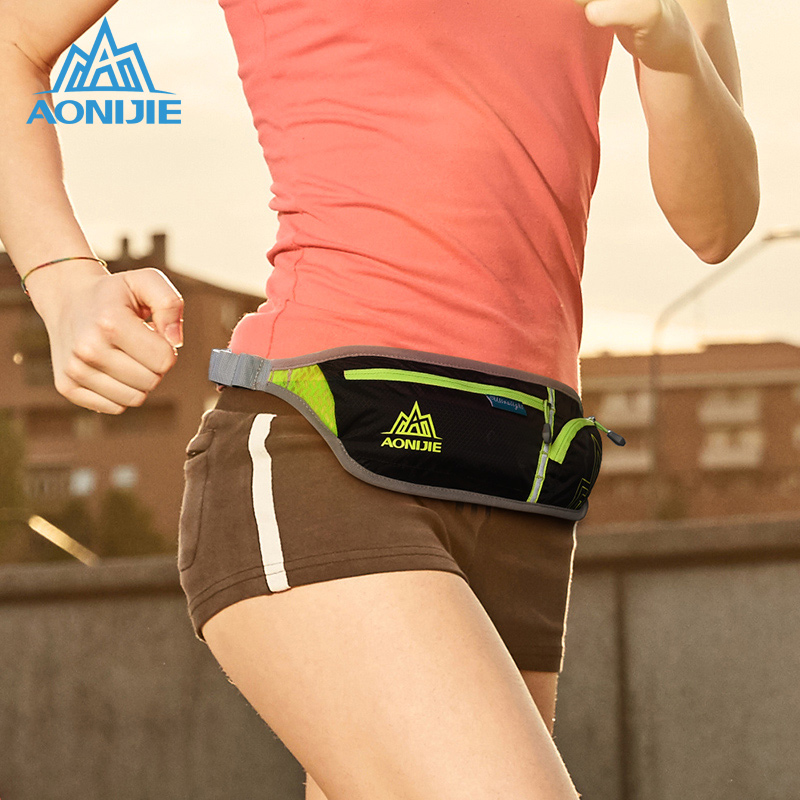 AONIJIE Sports Bag Running Bag For 6 Inch Phone Marathon Waist Bag Outdoor Hiking Racing Gym Fitness Trail Running Hip Bag