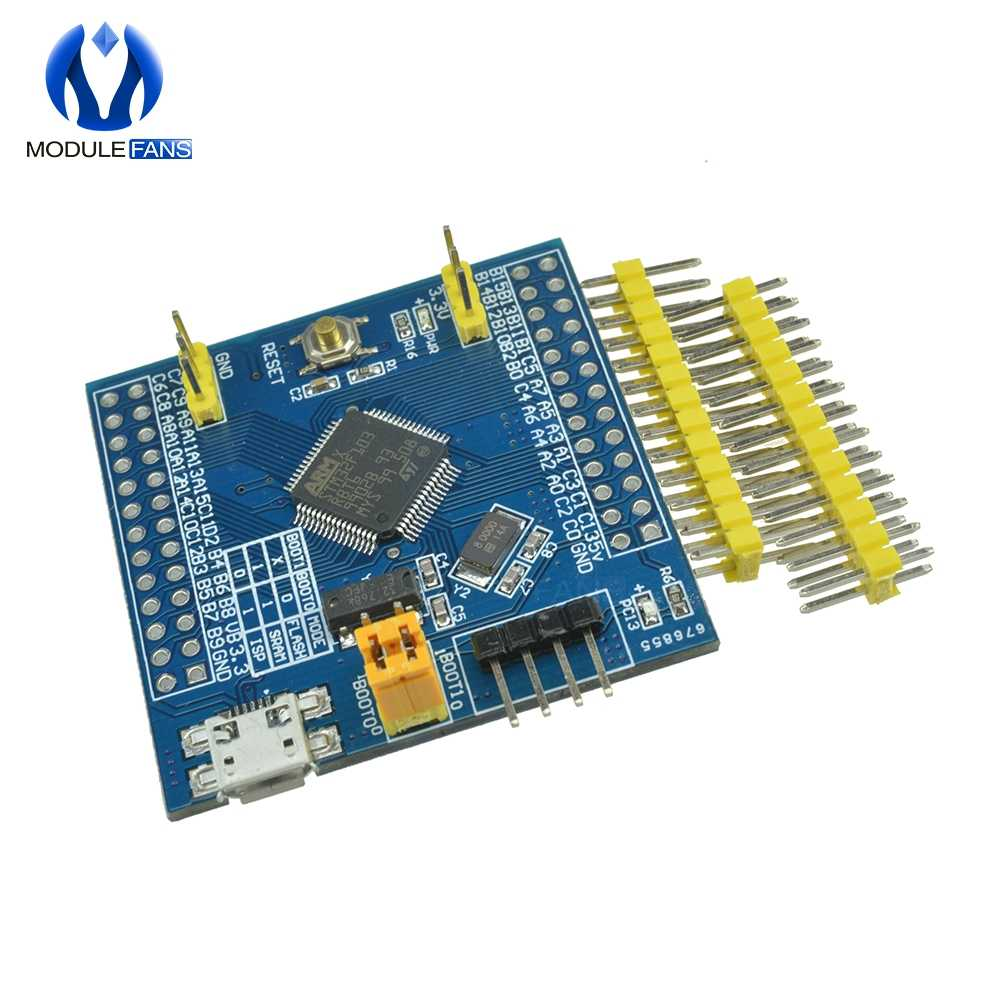 STM32F103RBT6 ARM STM32 System Mini Development Board Cortex-m3 M76 for  Arduino Expansion Board Module DIY Electronic