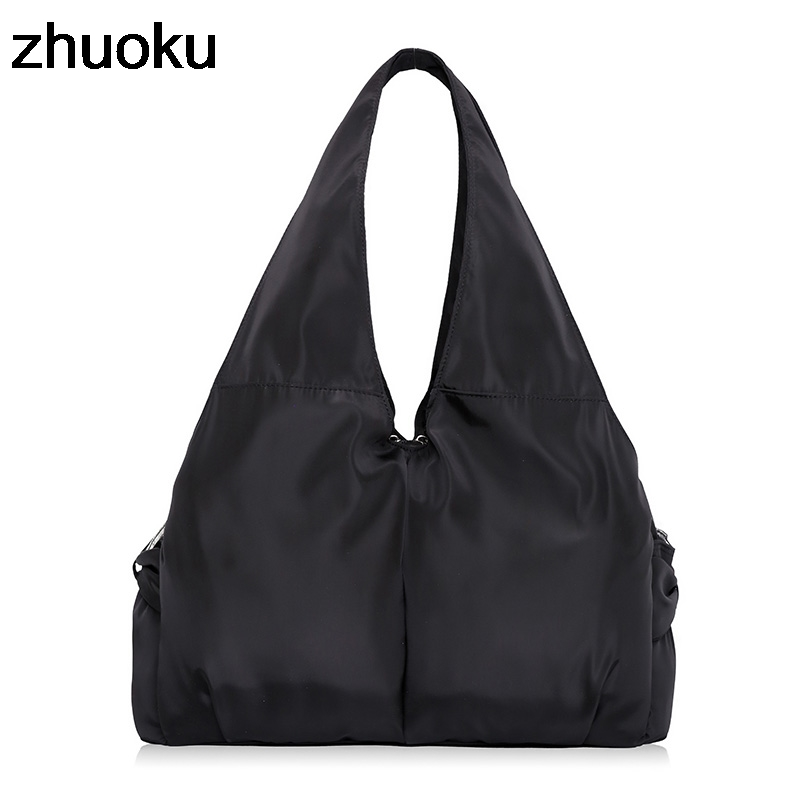 Top-handle Bag Handbags Women Famous Brand Big Nylon Shoulder Beach Bag Casual Tote Female Purse Sac Femme Bolsa Feminia
