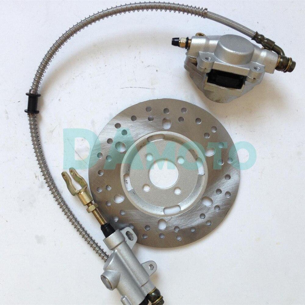 Hydraulic Rear Disc Brake Pad For 125cc 150cc 250cc Big Bull Quad Dirt Bike Atv High Quality Atv Parts & Accessories