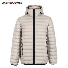 JackJones الرجال مقنع أسفل سترة معطف بركة (سترة من الفراء بقبعة للقطب الشمالي) قميص الملابس الرجالية 218312508