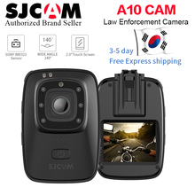 SJCAM A10 Novatek96658 Body Camera Wearable Infrared Security 2056mAh Night Vision 150degree Wide Angle Waterproof Action cam