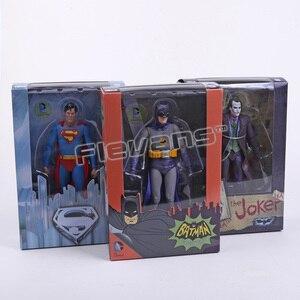"""Image 2 - NECA figuras de acción de DC Comics, Batman, Superman, Joker, juguete coleccionable de PVC de 7 """"y 18cm"""