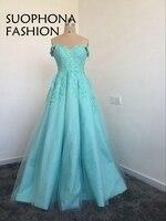 בלינג בלינג שמלות הערב ארוך ירוק מתוקה Applique חרוזים מקיר לקיר אורך ערב ערבית שמלות ערב שמלות רשמיות נשים