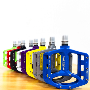 Image 1 - Magnesium alloy Road Bike Pedals Ultralight MTB Bearing Bicycle Pedal Bike Parts Accessories 8 color optional