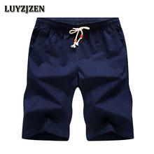 2018 New Brand Mens Shorts Casual Cotton Sea Board Shorts Men Beach Hot Sale Quick Dry