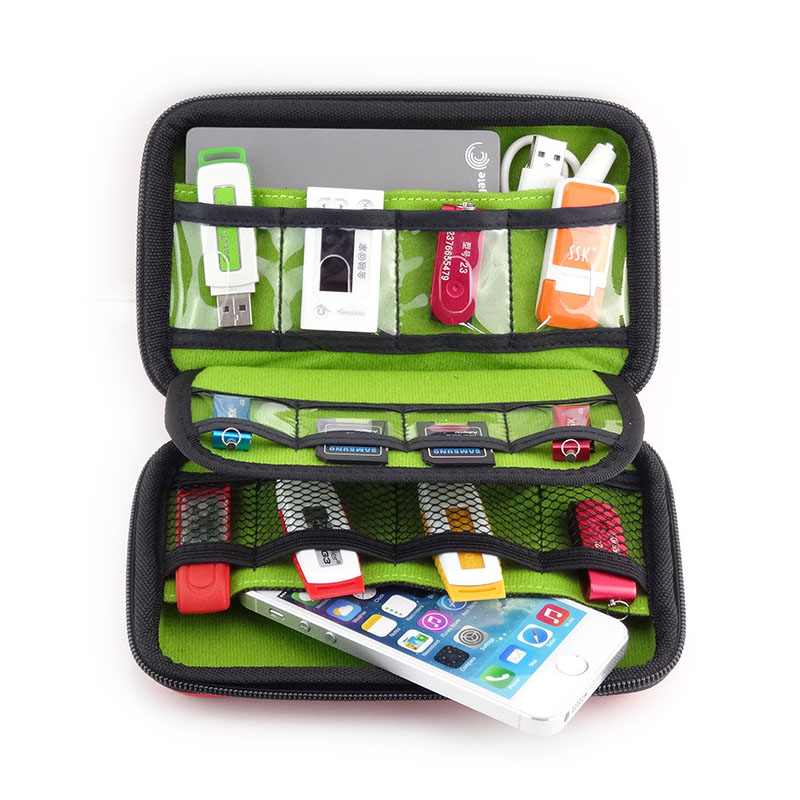 Waterproof USB Cable Storage Bag Organizer Hard Drive Earphone Flash Drives  Digital Gadget Devices Organizador Bags Case-in Storage Bags from Home &  Garden ...