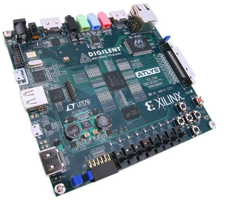 Free shipping Xilinx FPGA development board Digilent Atlys Spartan 6