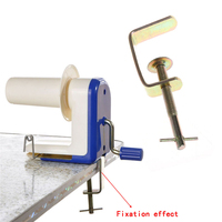 Hand Operated Winder Knitting Machine Yarn Fiber Wool String Ball Tool Plastic