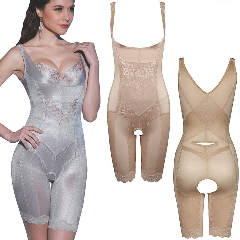 254c50e89 Lady Sexy Corset Slimming bodySuits Intimates Shapewear Body Shaper Magic  waist cincher Strapless bustier push Bra Up-in Bodysuits from Underwear ...