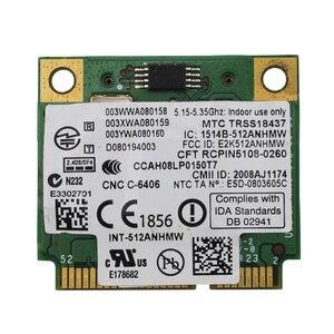Image 3 - Placa sem fio «para intel wifi link 5100, mini adaptador sem fio de placa pci e wi fi 2.4g/5ghz para dell