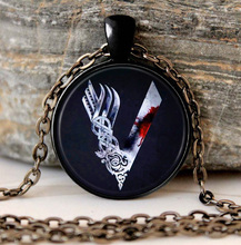 Vikings Series Logo Necklace