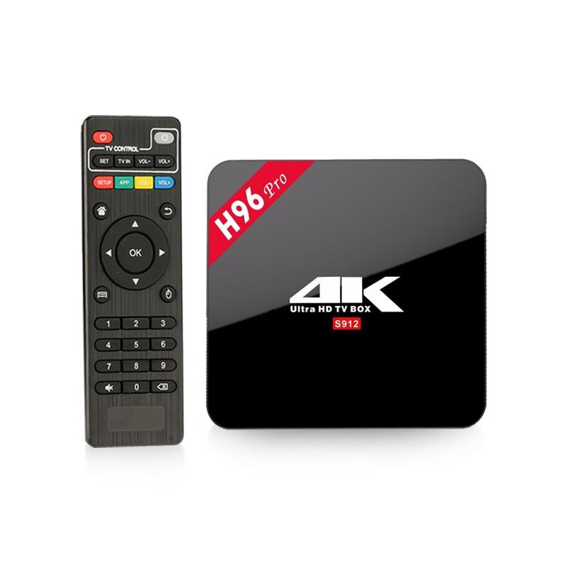 H96 Pro հեռուստացույց տուփ Amlogic S912 3gb 32gb - Տնային աուդիո և վիդեո - Լուսանկար 3