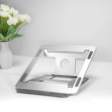 High Quality Laptop Stand Aluminium Adjustable Height Universal Notebook Holder Metal Cooling for MacBook Pro Air Chromebook all
