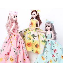 1/3 60cm 21 Movable Joints Bjd Dolls Toy with Fashion Accessories Clothes Shoes for 3D Eyes BJD Doll Toy for Girls Gift 1pair 2pcs 3 5cm fashion plastic doll shoescsuit for blythe licca jb bjd dolls accessory toy parts