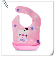 Baby Bibs Waterproof Silicone Feeding Baby Saliva Towel Wholesale Newborn Cartoon Waterproof Aprons Baby Bibs