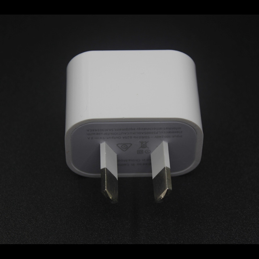50pcs Lot AU Plug 5V 1A USB Wall Charger Adapter For Iphone 6 6S 7 Plus