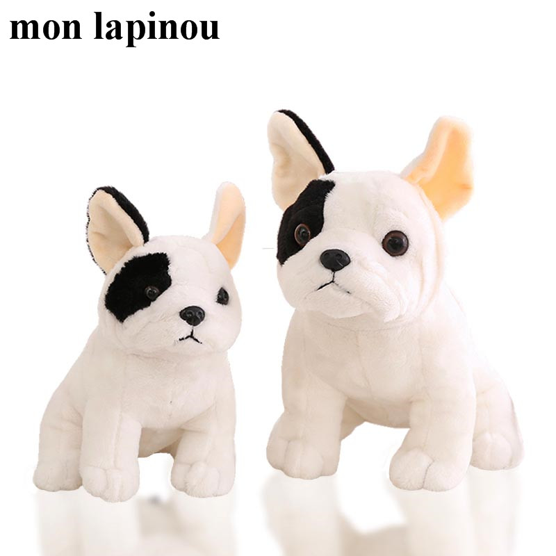 New Arrival Mon Lapinou Bulldog Plush Toys Simulation Dog Soft Doll