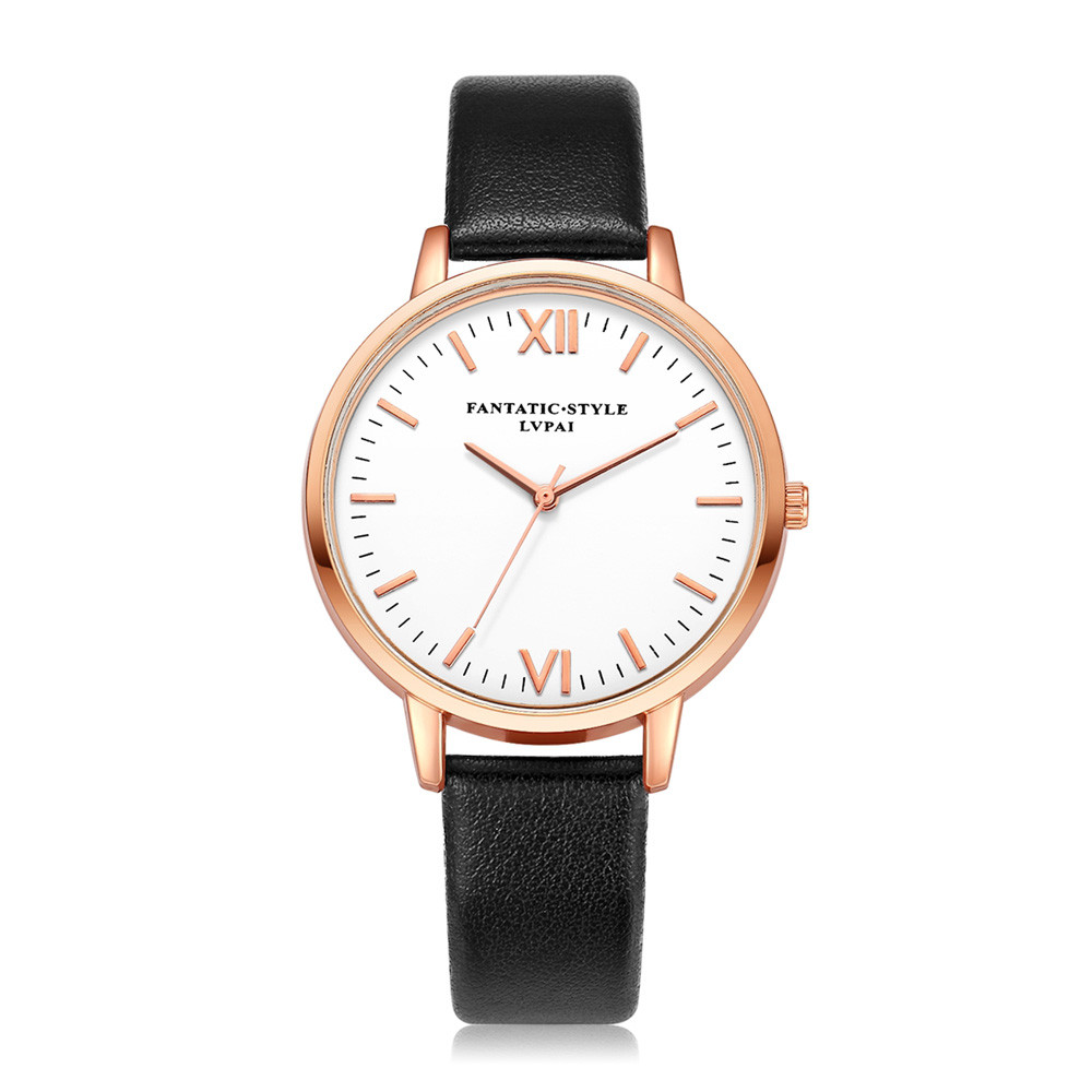 Lvpai 2018 Watch Women Luxury Brand With Leather Clock ...