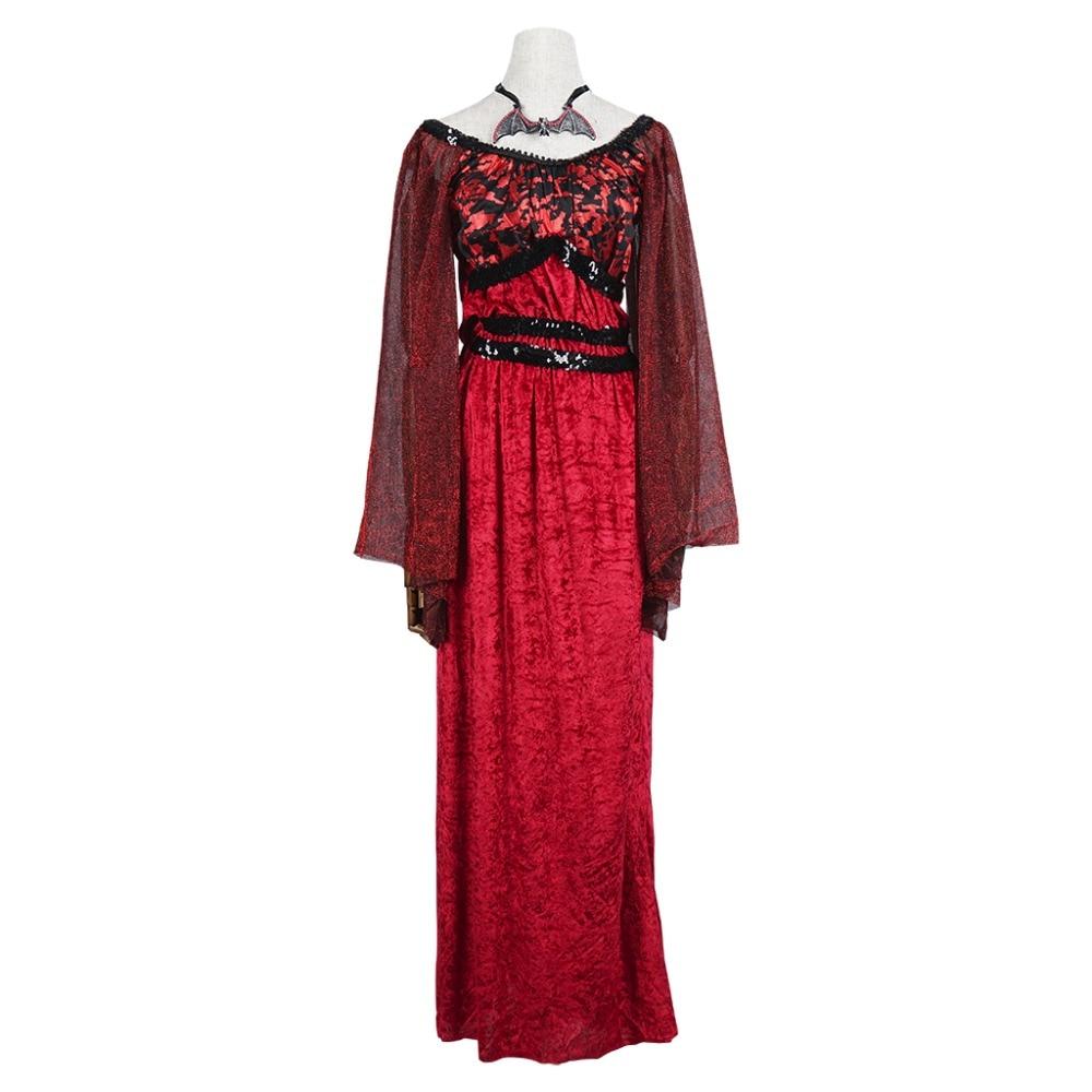 İntibah Donu Vampir Kostyumu Qadın Gothic Cadu Kraliçası Qadın - Karnaval kostyumlar - Fotoqrafiya 2