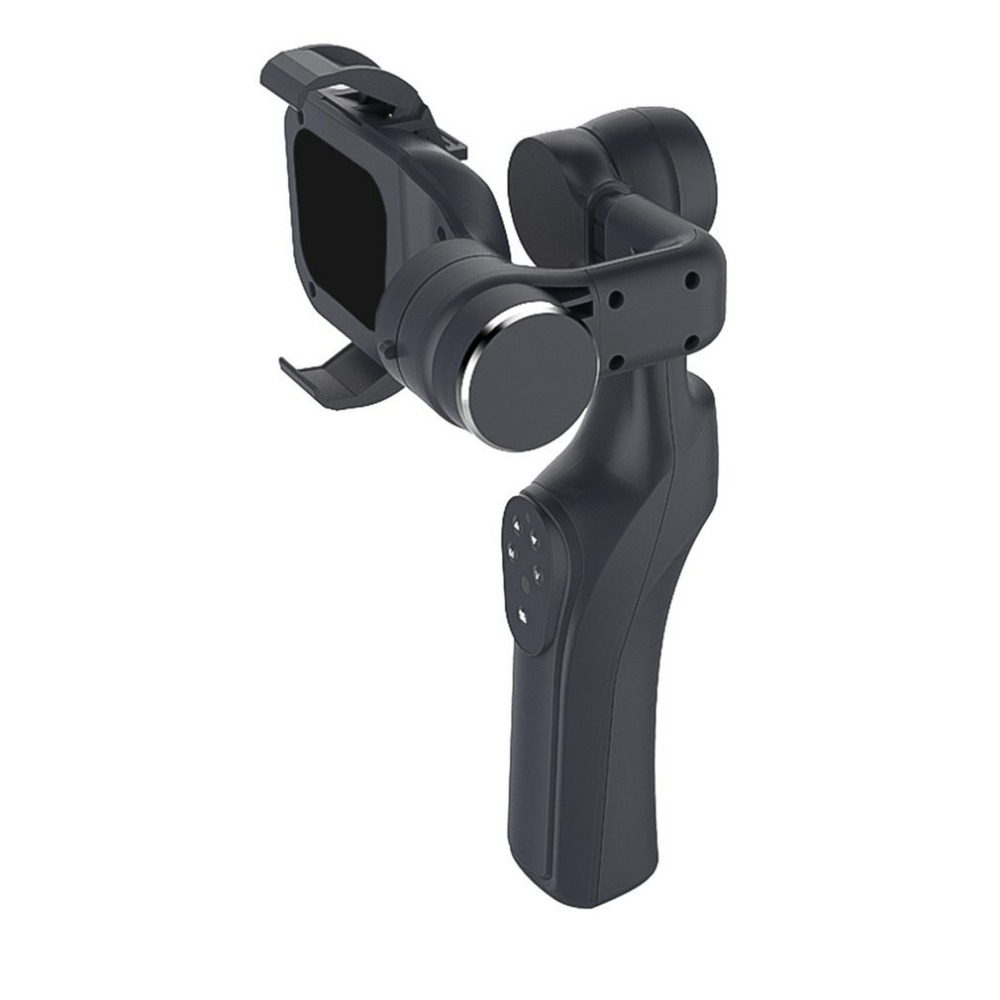 XJJJ JJ-1S 2-axis Brushless Handheld Phone Stabilizer 330Degree JJ-1 for Gopro Smartphone Gimbal Holder Mount Built-in Bluetooth xjjj jj 2 3 axis brushless handheld gimbal stabilizer 360 degree shooting fitting smart phone