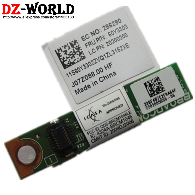 Genuine Lenovo Thinkpad T430 T430i T430s T430si Bluetooth Daughter Card 60Y3305