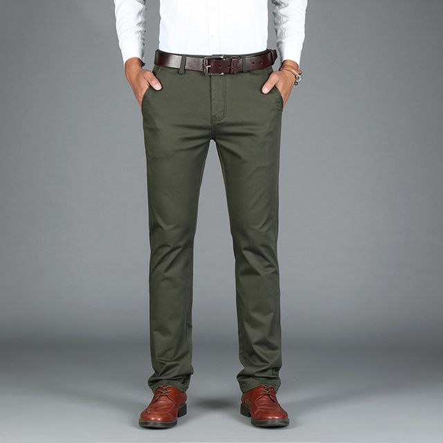 King Bright Brand Fashion Men Casual Pants Black Army ...