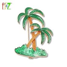 F.J4Z Brand 2017 New hot sale enamel green coconut tree womenu0027s costume brooch pins  sc 1 st  AliExpress.com & Buy coconut costume and get free shipping on AliExpress.com