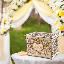 caja madera decoración RETRO VINTAGE
