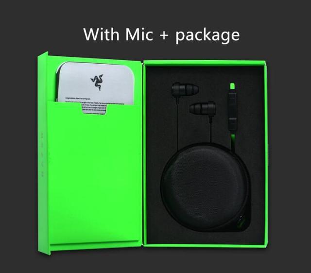 Razer hammerhead v2 pro fone de ouvido com microfone gaming fones de ouvido noise isolation stereo graves profundos e telefones celulares, fones de ouvido do computador