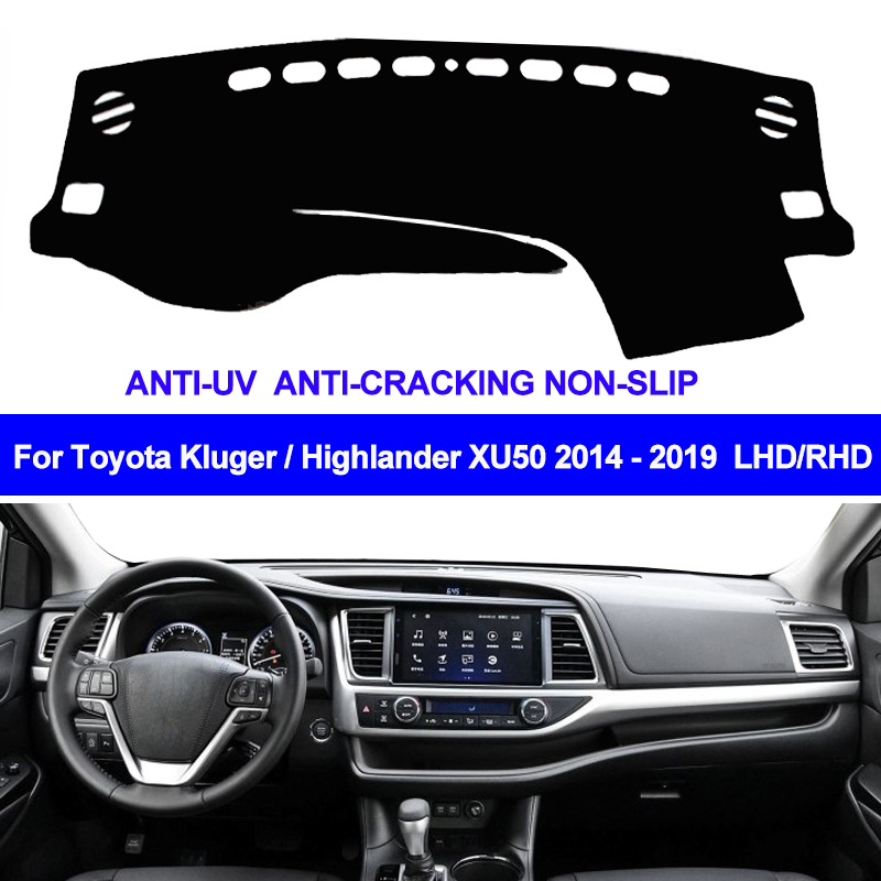 Toyota Highlander Dashboard Carpet Fits 2014-2019 Toyota Highlander Dashboard Carpet
